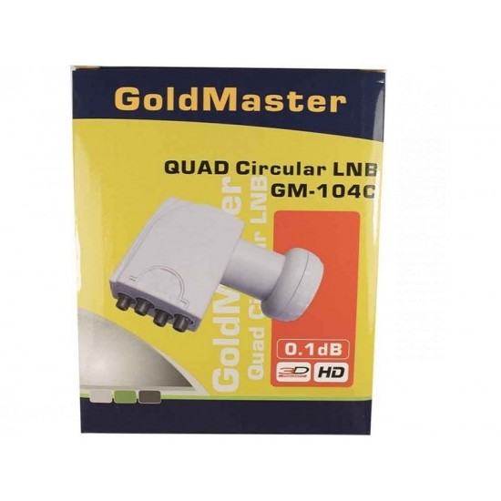 Конвертер GoldMaster GM-104C QUAD GoldMaster фото